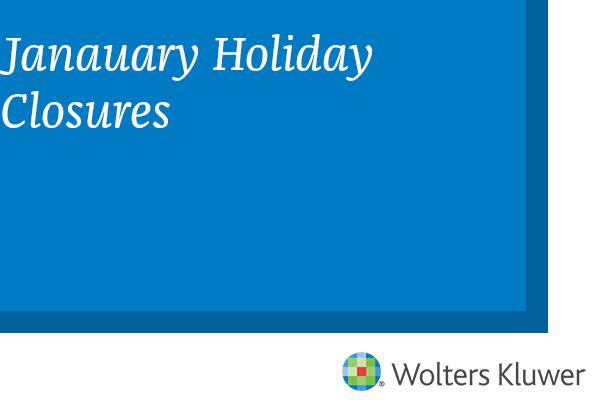 January Holiday