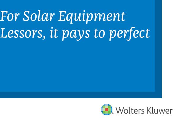 For Solar Lessors