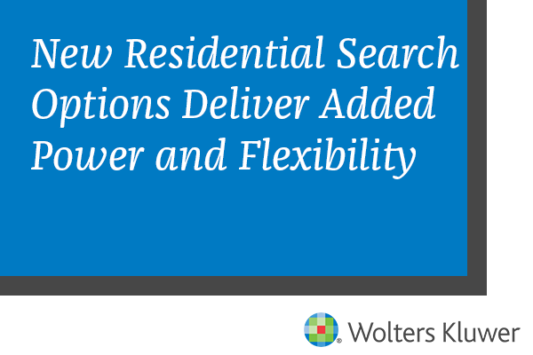 New Residential Search
